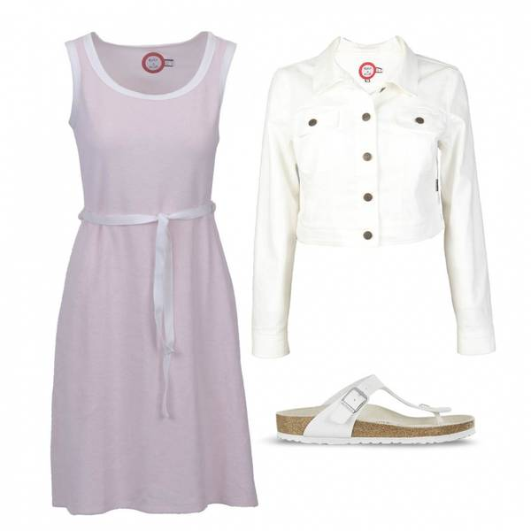 Image of Outfit Agnes pink