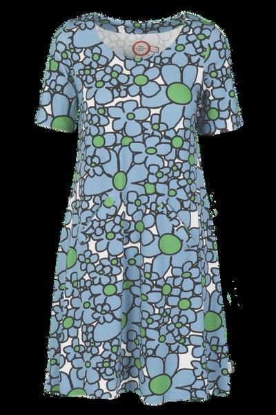 Image of Gina petrolblue dress