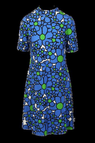 Image of Rachel blue dress