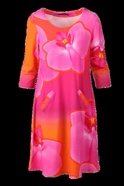 Image of Orkide dress pink orange D67