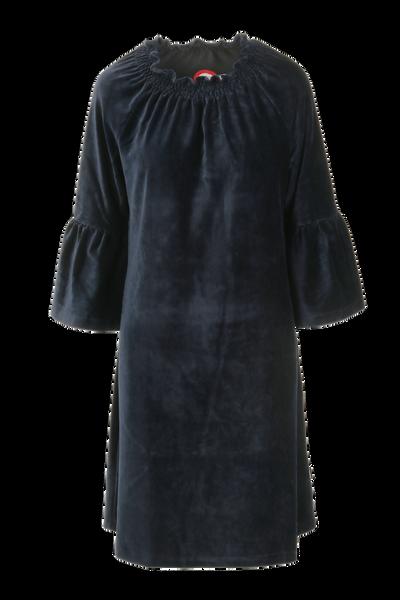 Image of Britt dress babycord blue