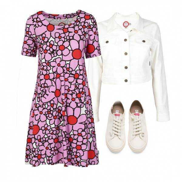Image of Outfit Gina pink