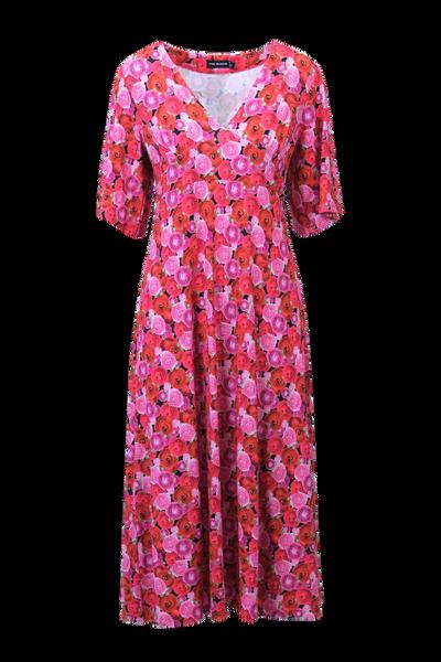 Image of Ranunculus red floral dress