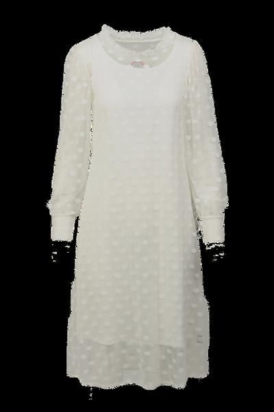 Image of Maud white dress