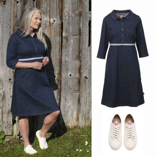 Image of Outfit Viola jeansdress