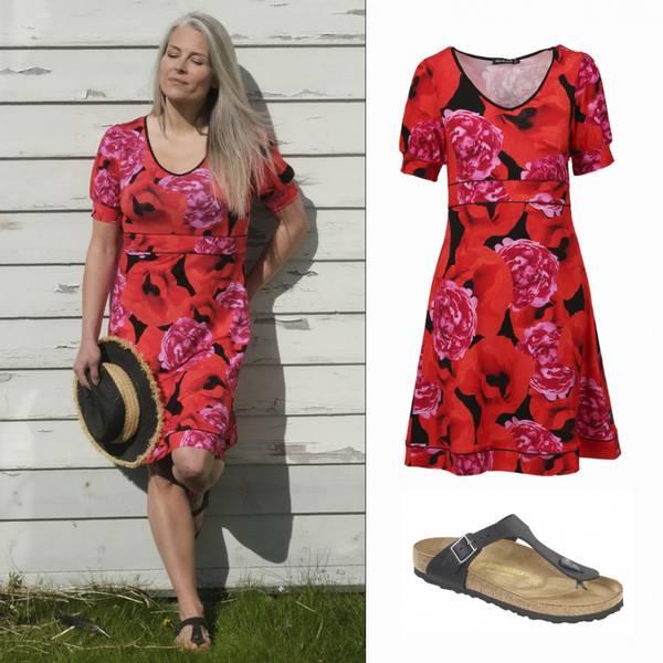 Image of Papaver & peon dress +