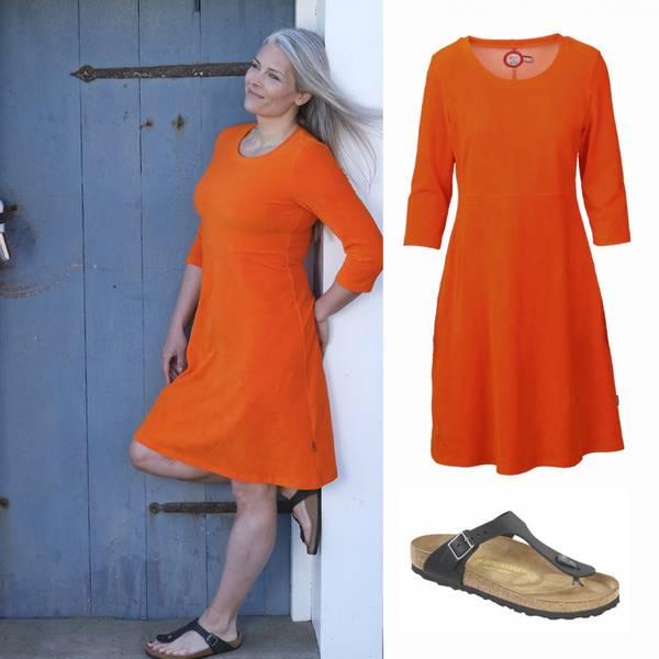 Image of Elli orange dress +