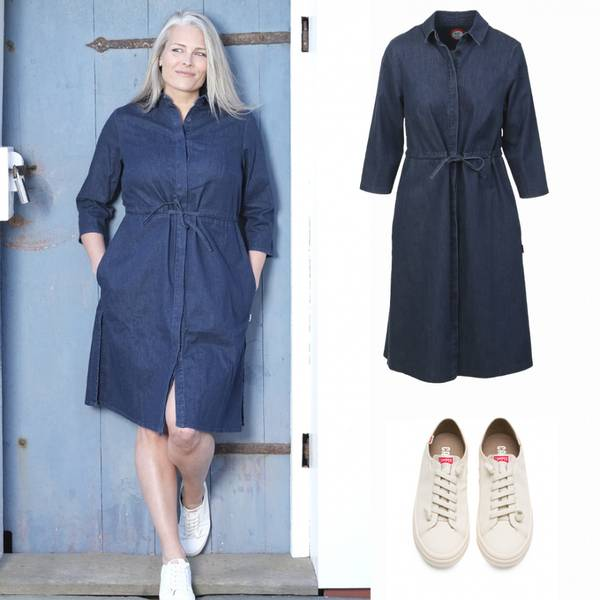 Image of Outfit Therese jeansdress +