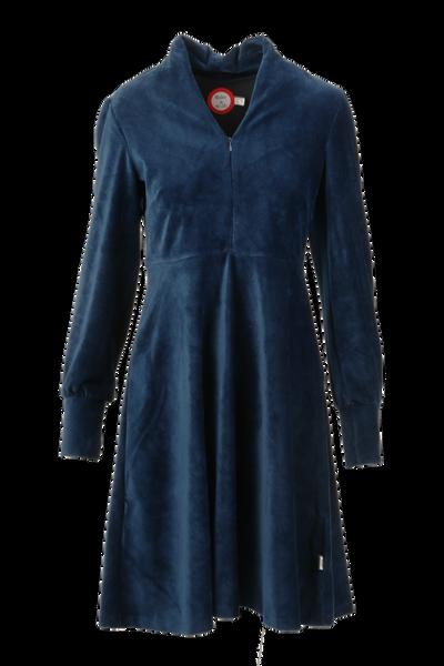 Image of Louise dress babycord blue