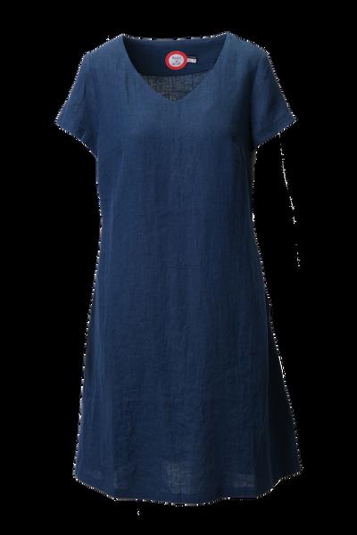 Image of Hannalena navy-blue linnen