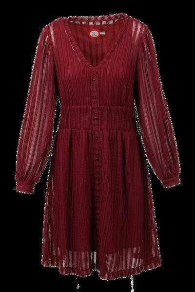 Image of Vivvi bordeaux dress