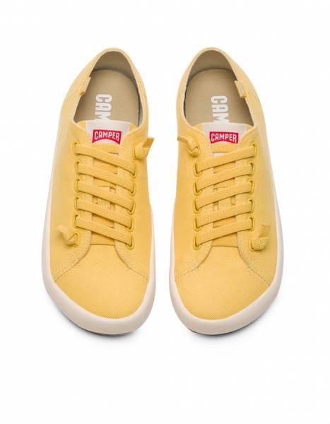 Image of Yellow Camper sneakers Peu