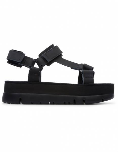 Image of Black Camper sandals oruga