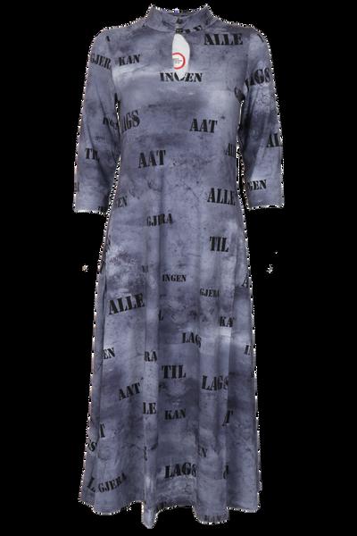 Image of Aagot grey mididress