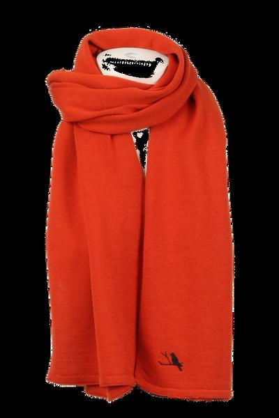 Image of Chloe rust scarf in 100%