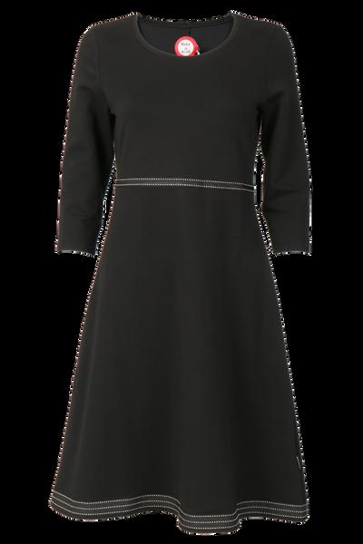 Image of Magda black and white dress