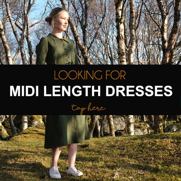 Midi long dresses