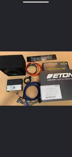 Bilde av JL oppgraderings pakke inkl/front høytalere VW T6