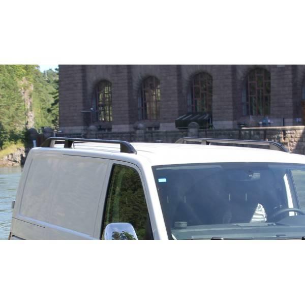 Bilde av Takrails i svart Aluminium/Plast till VW Transporter T6 / T5 L1