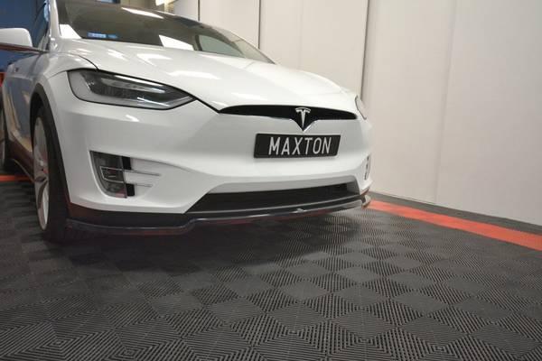 Bilde av TE-MODELX-1F-FD1G Front spoiler leppe Tesla Model X