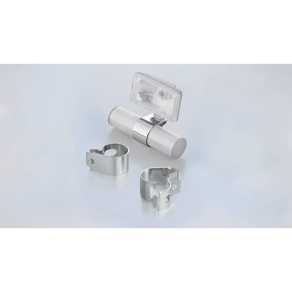 Bilde av ysbrakett, klammer, sett, for tube-Ø 80mm, stainless steel