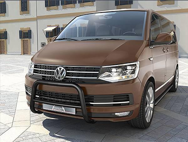 Bilde av VW T6 EU-beskyttelsesbøyle for personer 60 mm med integrert tver