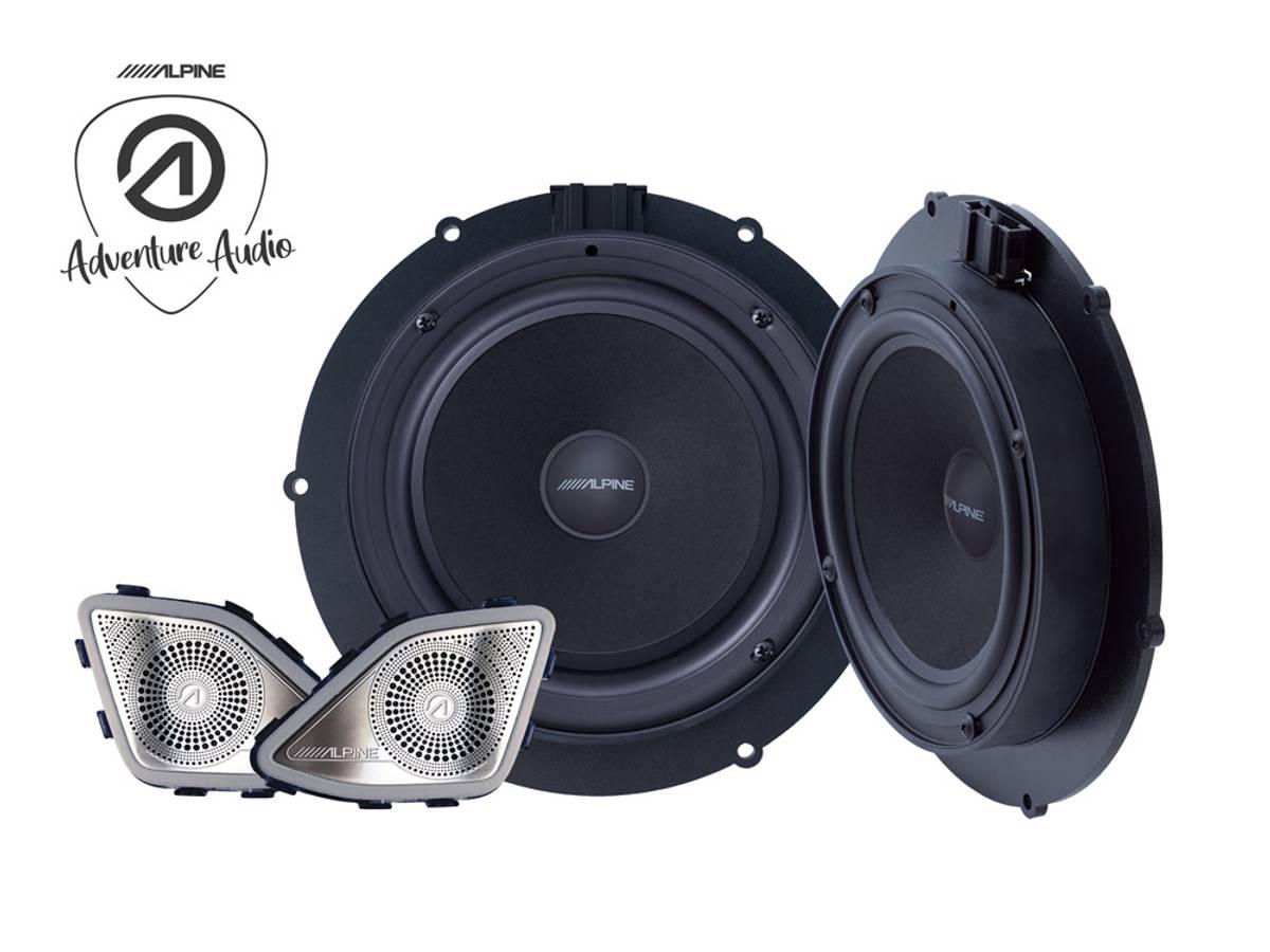 Alpine SPC-106T6 Component Speaker System for VW T6 2015-2019