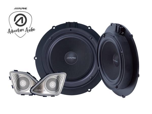 Bilde av Alpine SPC-106T6 Component Speaker System for VW T6 2015-2019