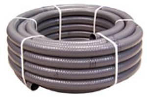Bilde av PVC - Slange 25mm (utv.mål)  Flexi. Grå