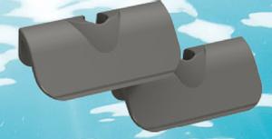 Bilde av Tunze - Care Magnet - Plastikk blad 45mm