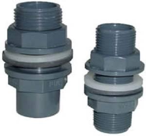 Bilde av PVC - Tankgjennomføring for liming 25mm (35mm borrehull)
