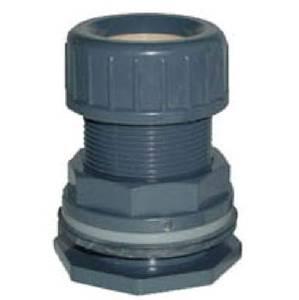 Bilde av PVC - Tankgjennomføring med tetningsskive 25mm (36mm borrehull)