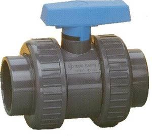 Bilde av PVC - Kuleventil 2-veis 25mm
