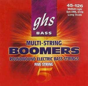 Bilde av GHS Bommers, 5ML-DYB 045-126, 5 strenger El.bass