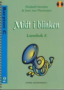 Bilde av Midt i blinken lærebok 1 Baryton C F-nøkkel