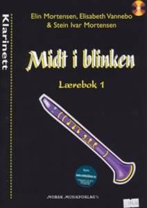 Bilde av Midt i blinken lærebok 1 m/CD - Klarinett