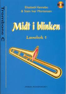 Bilde av Midt i blinken lærebok 1 m/CD Trombone C