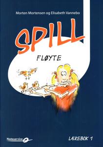 Bilde av Spill Fløyte 1 - bok m/CD - Morten Mortensen -