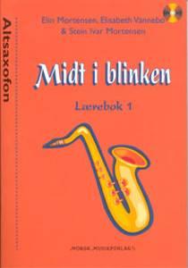 Bilde av Midt i blinken lærebok 1 m/CD Altsaxofon