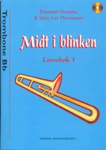 Bilde av Midt i blinken lærebok 1 Trombone Bb