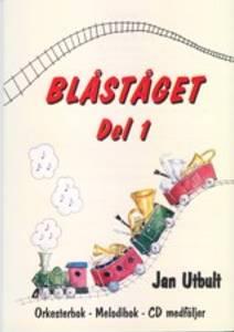 Bilde av Blåståget 1 Baryton G-nøkkel - Bok m/CD