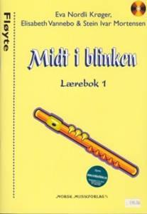 Bilde av Midt i blinken lærebok 1 m/CD - Fløyte - Eva