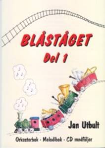 Bilde av Blåståget 1 Elgitar - Bok m/CD