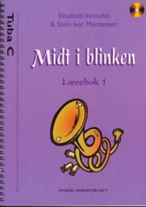 Bilde av Midt i blinken lærebok 1 Tuba C