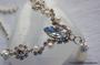 Krystallsmykkesett med perler
