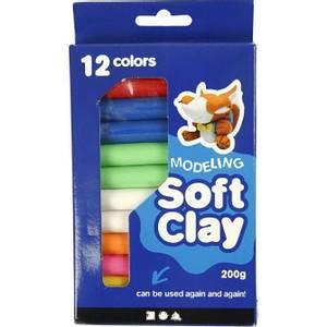Bilde av Soft Clay Modellvoks 200g