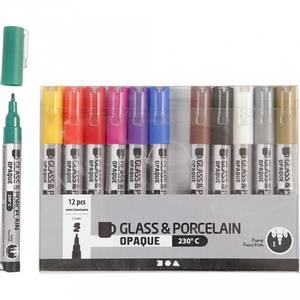Bilde av Glass- og porselenstusj 12
