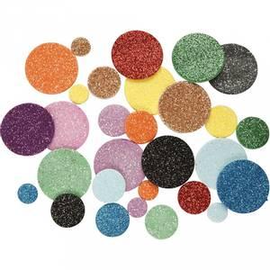 Bilde av Glitterstickers av mosegummi,