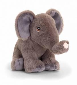 Bilde av Elefant av resirkulert plast