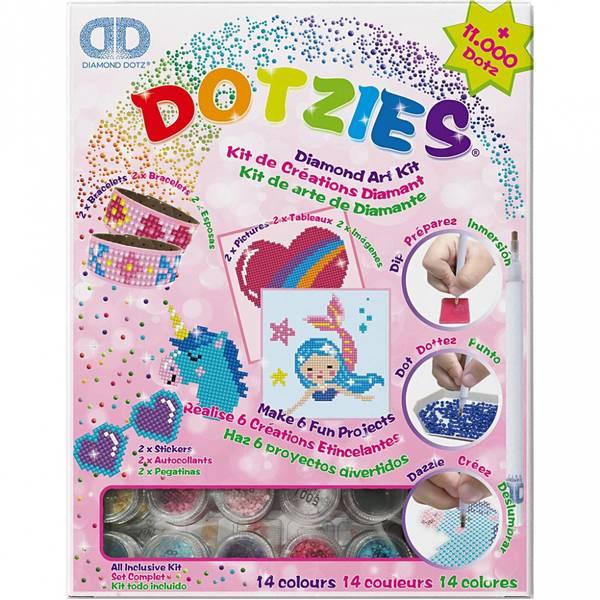 Diamond dotz, Rosa Art Kit